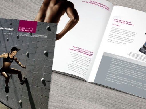 Nautilus Print Collateral