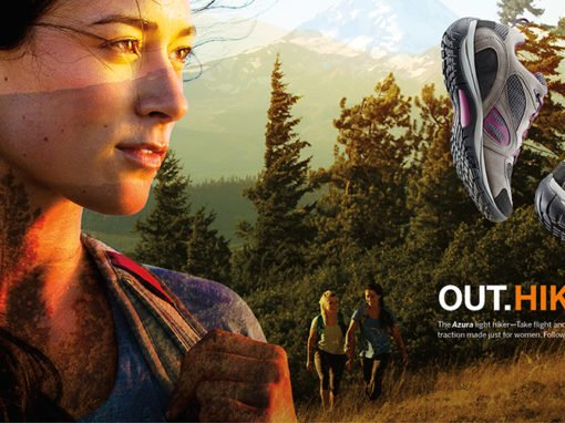 Merrell Out.Perform. Campaign